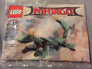 GREEN NINJA MECH DRAGON NEW /& SEALED LEGO NINJAGO MOVIE  # 30428
