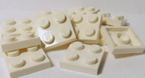 2x2 2 x 2 Plates 3022 WHITE 10 LEGO Parts~