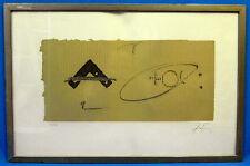 Lithografie, Antoni Tapies handsign, 66/75, ohne Titel