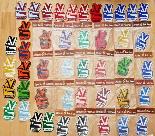 1970/'s Retro Fußball Aufnäher Beutel oder Unverpackt 27 Vereinen Verfügbar