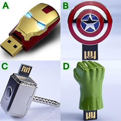 Genuine AVENGERS USB Flash Drive U disk Pen drive Ironman Captain America Hulk