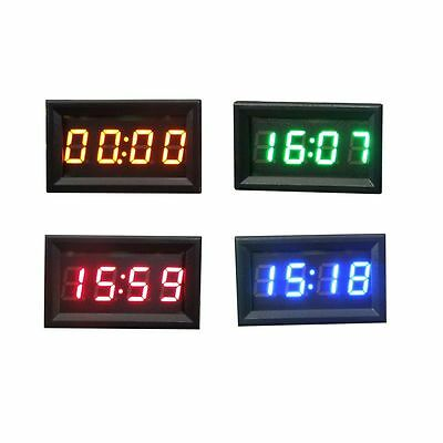 Car Motorcycle Accessory 12V/24V Dashboard LED Display Digital Clock Ornate