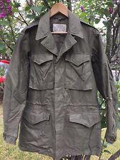 Original Vintage WWII US Army Military M-1943 Stencil Combat Field Jacket. 34 L