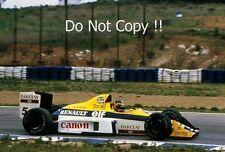 THIERRY BOUTSEN Williams FW13 Gran Premio di Spagna 1989 Fotografia