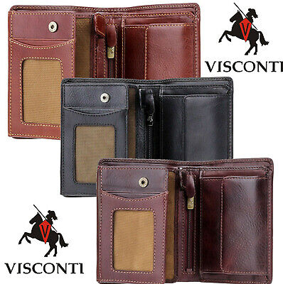 Visconti RFID Men's Gift Boxed Leather Wallet VSL33