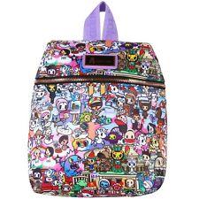 """NEW TOKIDOKI Purple/Multi """"ROMA"""" Mini Backpack -SALE"""