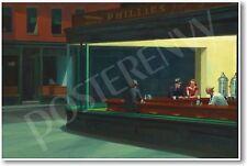 Nighthawks 1942 - Edward Hopper - NEW Famous Fine Art Painting Print POSTER