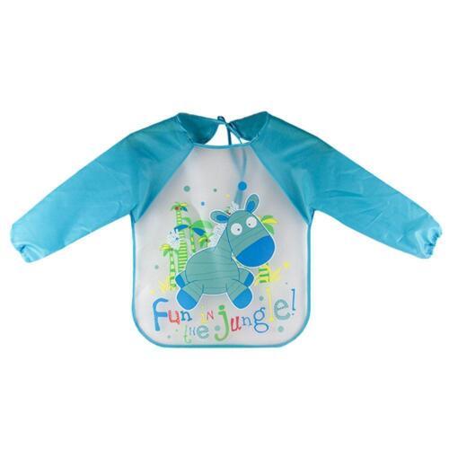 EVA-Malschürze Kinder Küchenschürzen Langärmelige Anti-Schmutzige Kleidung
