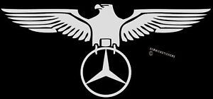 GERMAN-EAGLE-MERC-STICKER-POLISHED-CHROME-FINISH