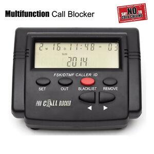 Pro-Incoming-Call-Blocker-Telephone-Defense-w-LCD-Display-1500-Blacklist-Numbers