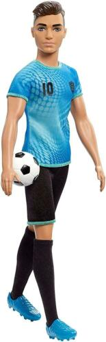 Bambole BARBIE KEN carriera di calciatore Dress Up da collezione doll