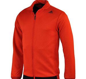 AB6371 Adidas Men s CLIMALITE Training REFRESH Warm-Up Track Jacket ... 89b2a4c6068