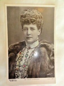 Queen-Alexandra-of-England-Postcard-with-Glitter-Embellishment