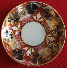 Antique 19th c. Worcester Flight Barr FBB Porcelain Plate Saucer Bowl Imari