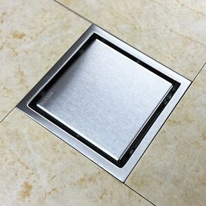 Tile Insert Invisible Floor Shower Drain Wetroom Bathroom