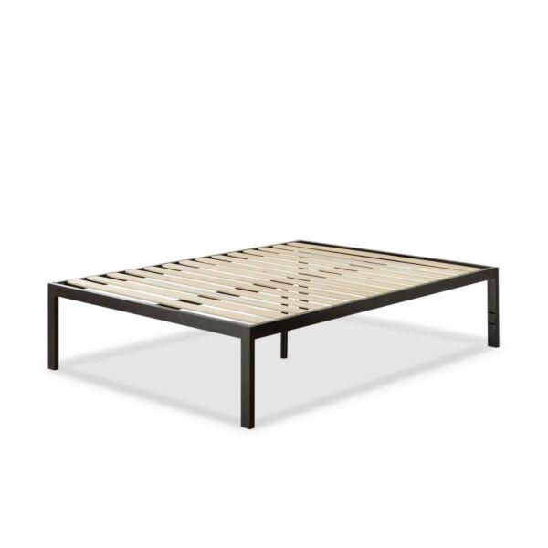 zinus quick snap tm 18 inch platform bed frame mattress foundation with less 3 ebay. Black Bedroom Furniture Sets. Home Design Ideas