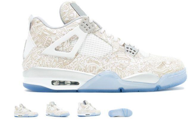 Nike Air Jordan Jordan Jordan Retro 4 IV Laser 30th Anniversary 705333 105 Size 13 706da9