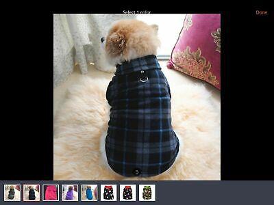 Dog Coat Jumper Winter Warm With, Best Winter Dog Coat Uk