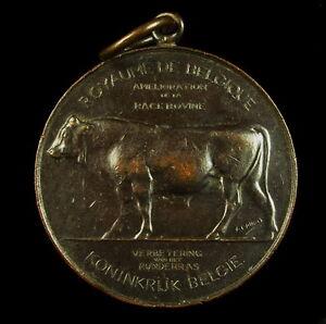 Medaglia-Bello-Belgio-Bull-Manzo-Allevamento-Animali-Beef-Medal