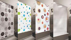duschrollo basic 7 breiten zur wahl duschvorhang orange. Black Bedroom Furniture Sets. Home Design Ideas