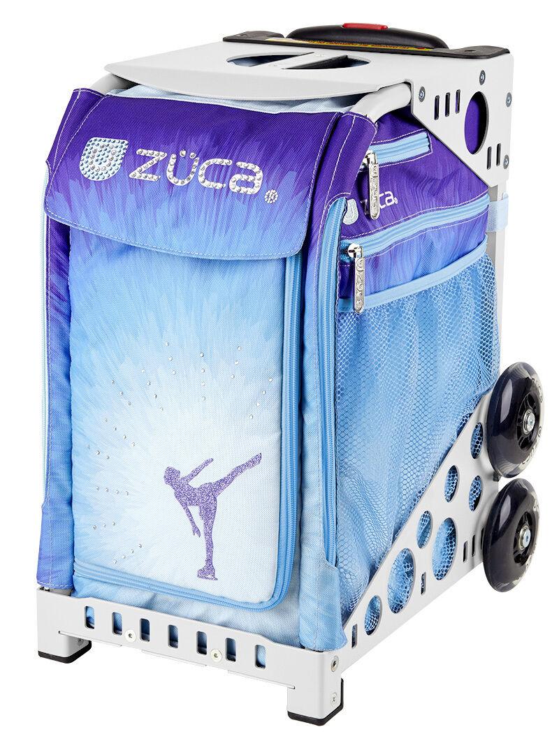 ZUCA Sport ICE DREAMZ Insert & WHITE Frame w  Flashing  - FREE SEAT CUSHION