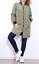 Giubbino-Donna-Lungo-Giubbotto-Bomber-Giacca-nero-verde-marrone-estivi-leggeri miniatura 5