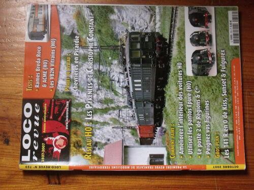 $$9 Loco-Revue N°723 Chevrieres Picardie  Pyrenees C Constant  141 R  Peinture