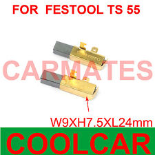 TS 75 EBQ Kohleb/ürsten f/ür Festool TS 75 EBQ-Plus-FS TS 75 EBQ-Plus