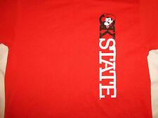 NCAA Oklahoma State University OSU Cowboys 'OKState' Orange T Shirt - L