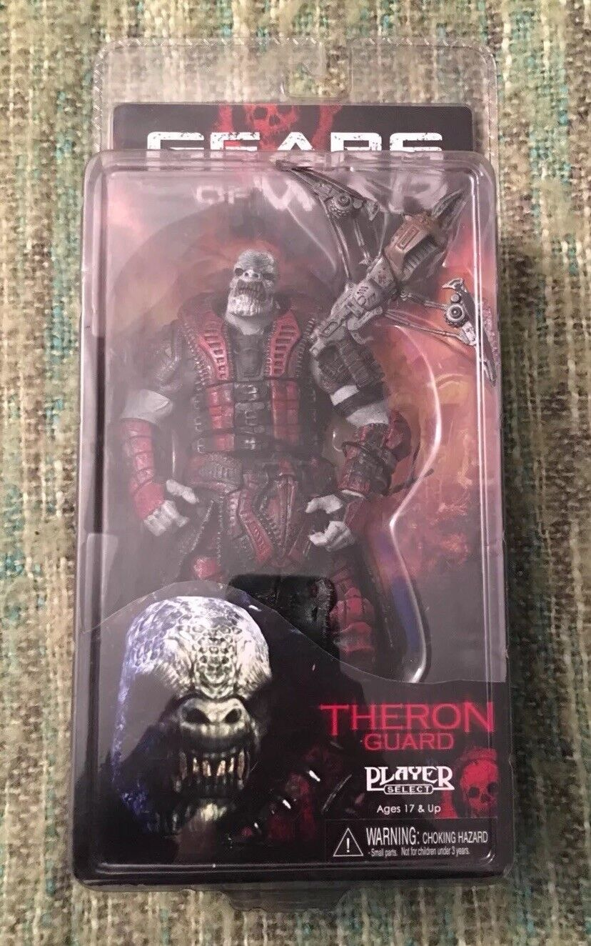 Gears of War Series 2 Theron Guard 7in Action Figure NECA