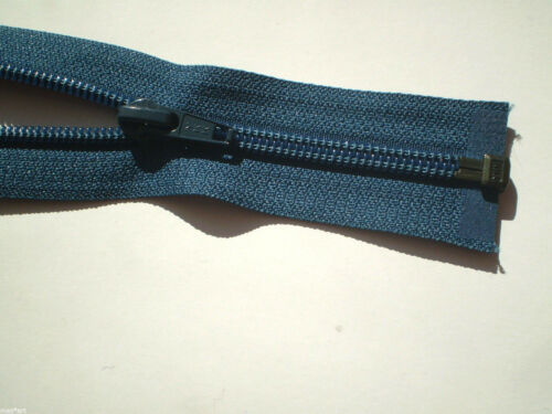 Reißverschluss TAUBENBLAU 074 Nylon Größe 5 teilbar YKK Zipper fermuar cipzár