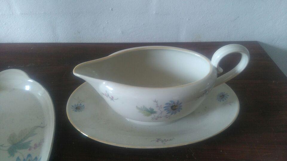 Porcelæn, Fad, m.m.