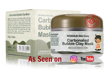 Piggy Clay Mask Carbonated Mud Black Bubble Face Pore Blackhead Peel