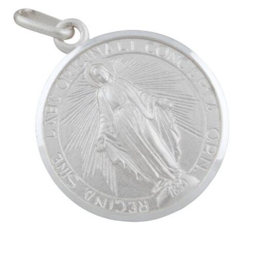 Madonna Anhänger Silber 925 Heilige Maria Mutter Gottes Heiligenanhänger b424
