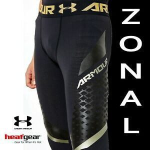 UNDER-ARMOUR-MENS-HEATGEAR-034-ARMOUR-ZONAL-034-COMPRESSION-LEGGINGS-1289579-001-SMALL