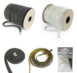 Ofen-Dichtschnur-6-30mm-Dichtband-Ofendichtung-Grau-Weiss-selbstklebend-Dichtung