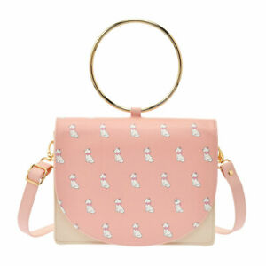 The-Aristocats-Marie-Cat-2WAy-Shoulder-Bag-Ring-Hand-Bag-Icon-Disney-Store-Japan
