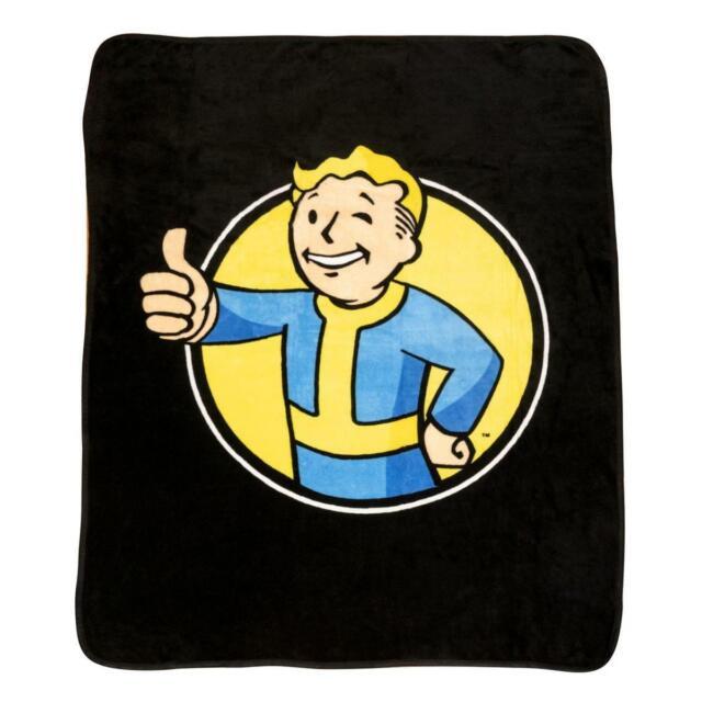 "Fallout 4 Brotherhood of Steel Fleece Blanket 43/"" x 60/"" Officially Licensed"