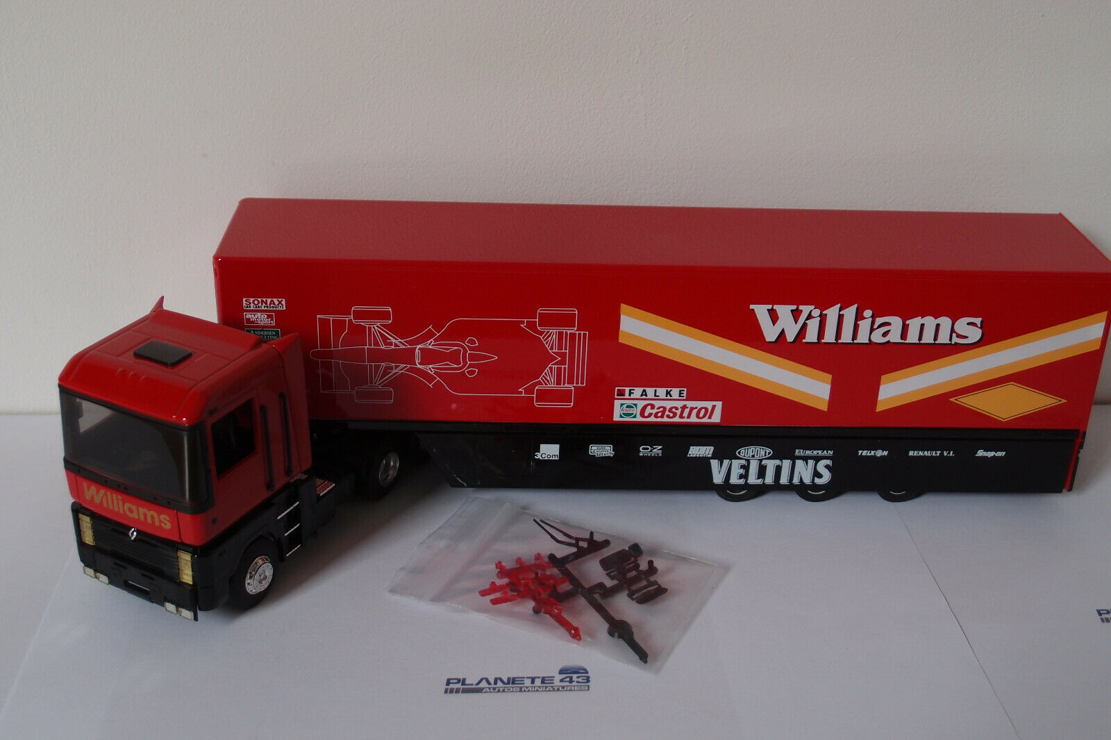 LBS ELIGOR 111355 RENAULT MAGNUM AE500 WILLIAMS 1998 1 43