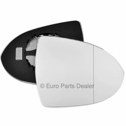 Wing mirror glass for Kia Sportage 10-15 Right Driver side Aspherical Electric