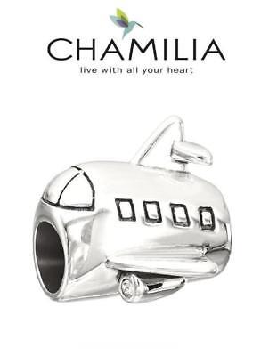 Airplane Charm Bead 2010-3235 Chamilia Ready for Takeoff