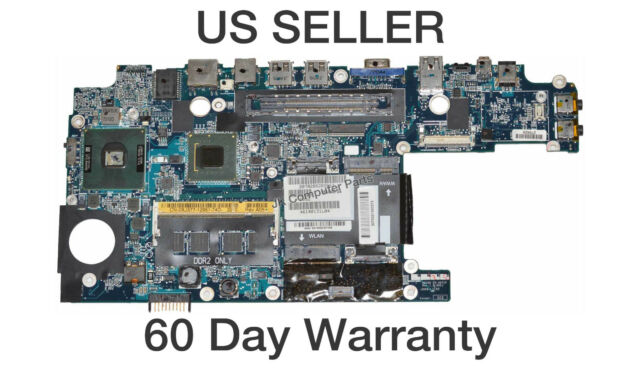 Dell Latitude D420 D430 Laptop Motherboard  w/ Intel U2500 1.2Ghz CPU XJ577
