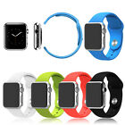 Watch Strap Bracelet Band Silicone Fitness Replacement for Apple Watch 38mm/42mm