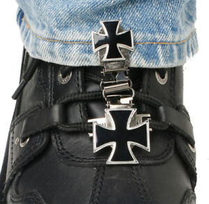 RYDER CLIPS LACED BOOT TYPE (MALTESE CROSS) MCL-FC