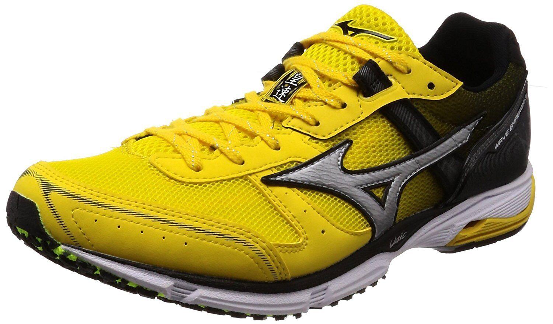 MIZUNO Running shoes WAVE EMPEROR 3 Wide J1GA1877 Yellow White US7.5(25.5cm)