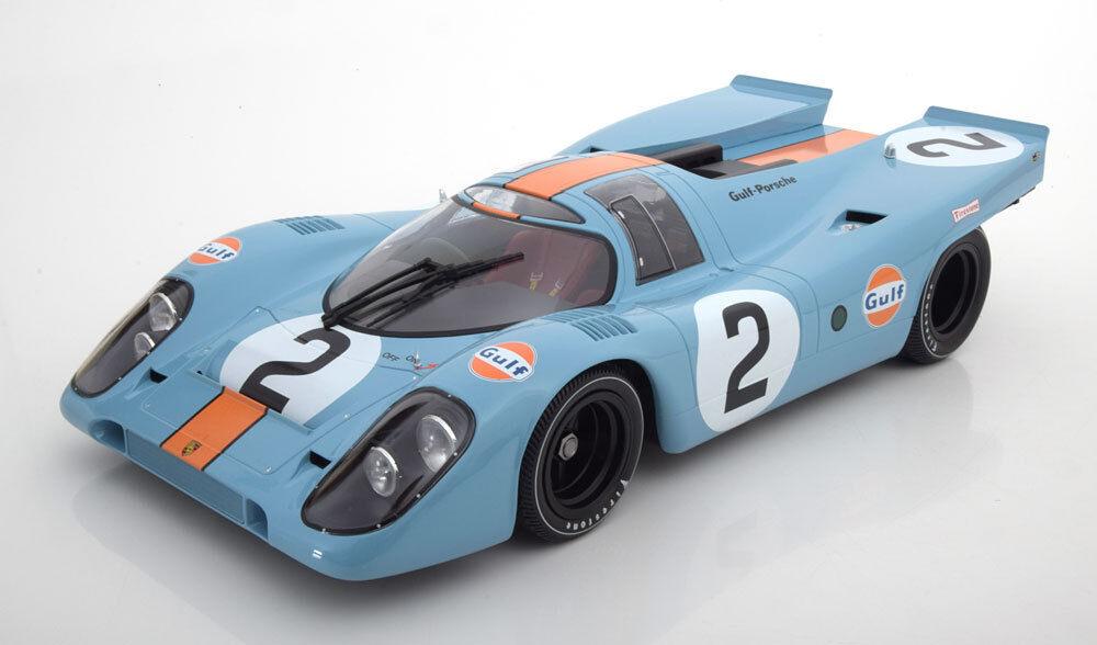 Minichamps Porsche 917 K Gulf Winner 24h Daytona 1970  12 Scale New Release