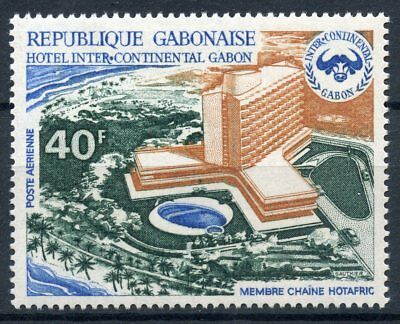 Shock-Resistant And Antimagnetic Stamps Selfless Timbre Du Gabon Poste Aerienne N° 127 ** Hotel Intercontinental Waterproof