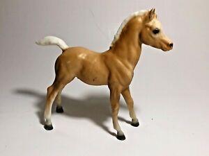 Vintage Tan & White Model Horse Pony by Breyer Holding Co. USA Make Offer!