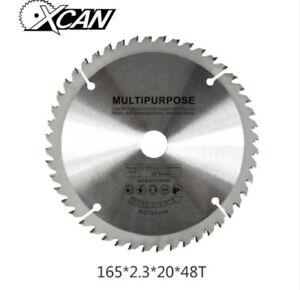 165mm-x-20mm-x-48T-TCT-Cordless-Circular-Saw-Blade-Dewalt-Makita-Ryobi-Bosch-New