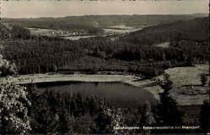 Ebersdorf-Thueringen-1963-Partie-Saaletalsperre-Stausee-Frankenwald-Gewaesser